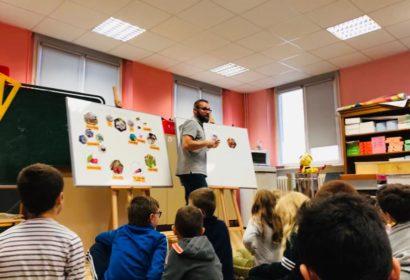 240 élèves sensibilisés aux abeilles avec Véolia Eau