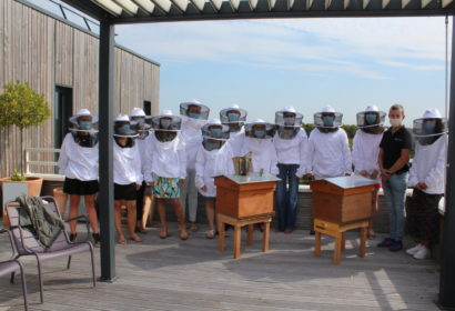 Installation de ruches chez NetPlus Bretagne !