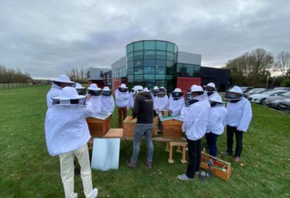 Dernières implantations de ruches avant la trêve hivernale...